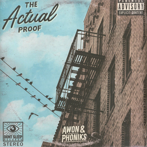 Awon & Phoniks - The Actual Proof Black Vinyl Edition