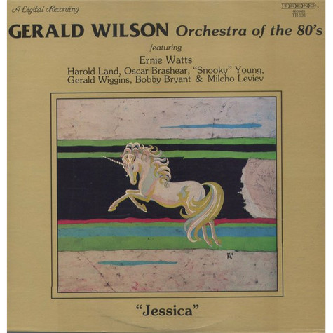 Gerald Wilson Orchestra Of The 80's - Jessica