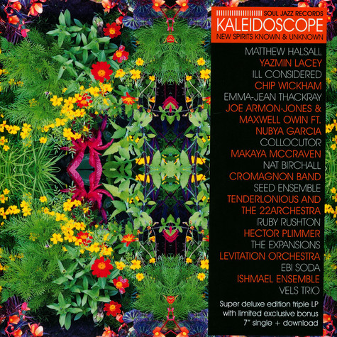Soul Jazz Records Presents - Kaleidoscope: New Spirits Known & Unknown Deluxe Edition