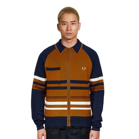 Fred Perry x Nicholas Daley - Knitted Zip Through Shirt
