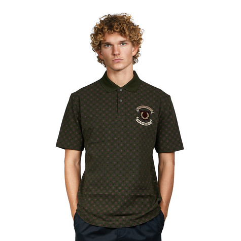 Fred Perry - Embroidered Printed Polo Shirt