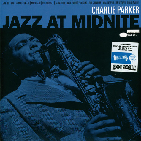 Charlie Parker - Jazz At Midnight: Live At The Howard Theatre Midnight Blue Record Store Day 2020 Edition