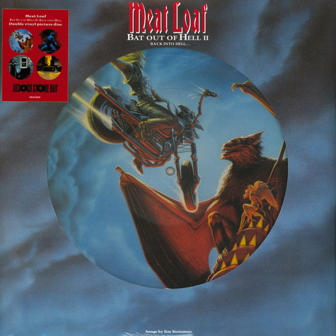 Meat Loaf - Bat Out Of Hell II: Back Into Hell Picture Disc Record Store Day 2020 Edition