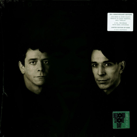 Lou Reed & John Cale - Songs For Drella Record Store Day 2020 Edition