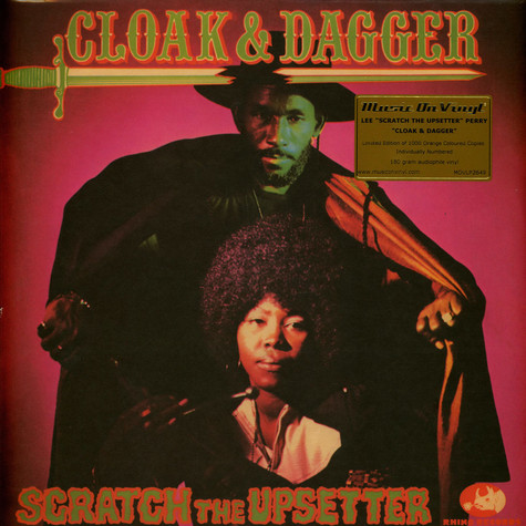 Lee Perry - Cloak & Dagger Limited Numbered Orange Vinyl Edition