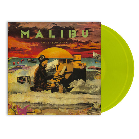 Anderson .Paak - Malibu HHV Exclusive Neon Yellow Vinyl Edition