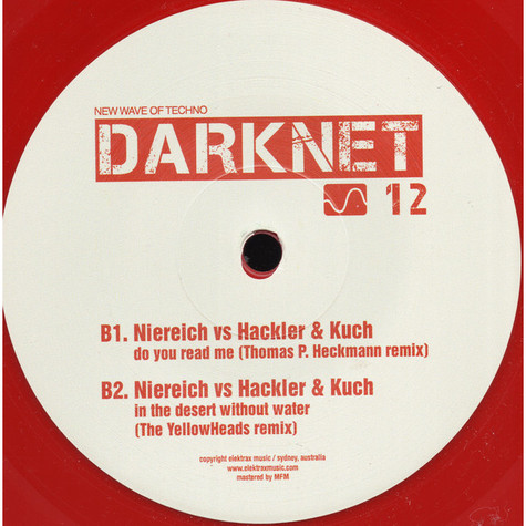 Niereich Vs Hackler & Kuch - Do You Read Me / In The Desert Without Water