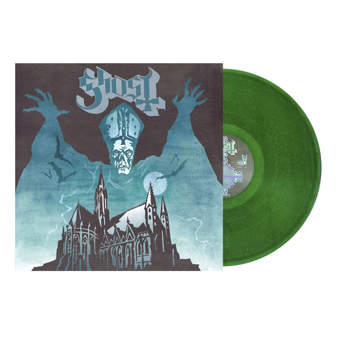 Ghost - Opus Eponymous Green Sparkle Vinyl Edition