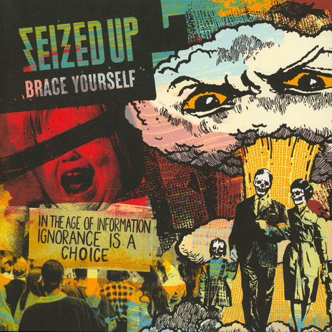 Seized Up - Brace Yourself Mustard/Clear Splatter Vinyl Edition