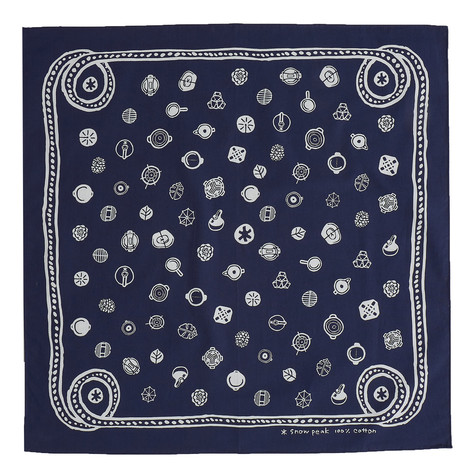 Snow Peak - Organic Cotton SP Dot Bandana