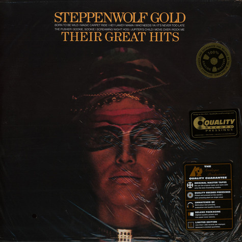 Steppenwolf - Gold- Their Greatest Hits 45rpm, 200g Vinyl Edition