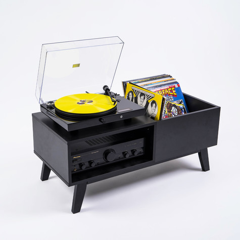 Record Box - Record Player Lowboard