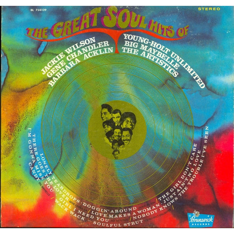 V.A. - The Great Soul Hits Of Jackie Wilson - Gene Chandler - Big Maybelle - Barbara Acklin - The Artistics - Young-Holt Unlimited
