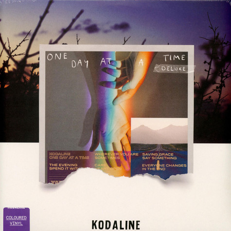 Kodaline - One Day At A Time Deluxe Purple Vinyl Edition