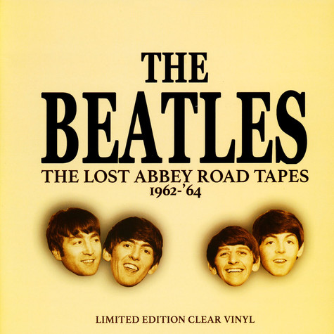 Beatles, The - The Lost Abbey Road Tapes 1962-64 Clear Vinyl Edition