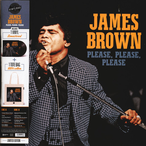 James Brown - Please, Please, Please - Vinylbag