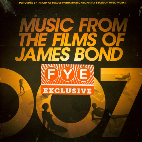 The City Of Prague Philharmonic Orchestra - Music From The Films Of James Bond Gold Vinyl Edition