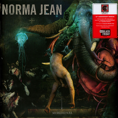 Norma Jean - Meridional Blue Black Friday Record Store Day 2020 Edition