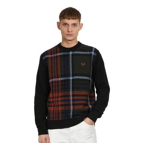 Fred Perry - Reverse Jacquard Jumper