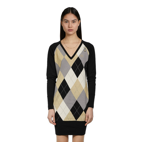 Fred Perry x Amy Winehouse Foundation - Argyle Knitted Dress