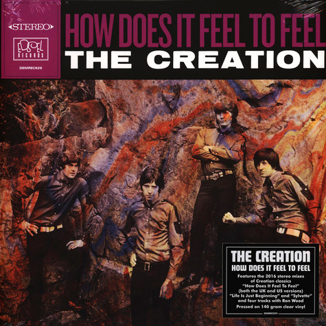 Creation, The - How Does It Feel Clear Vinyl Edition