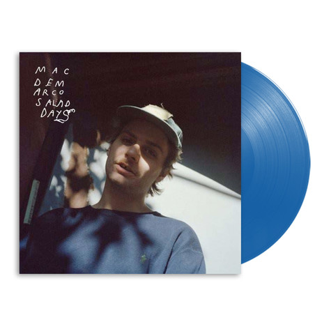 Mac DeMarco - Salad Days HHV Exclusive Transparent Cobalt Blue Vinyl Edition