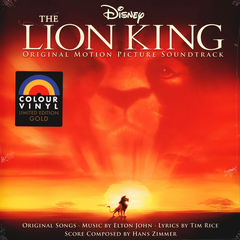 V.A. - OST The Lion King Limited Gold Vinyl Edition