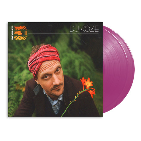 DJ Koze - DJ-Kicks HHV Exclusive Transparent Violet Vinyl Edition
