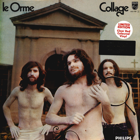 Le Orme - Collage Red Vinyl Edition