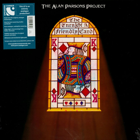 Alan Parsons Project, The - The Turn Of A Friendly Card
