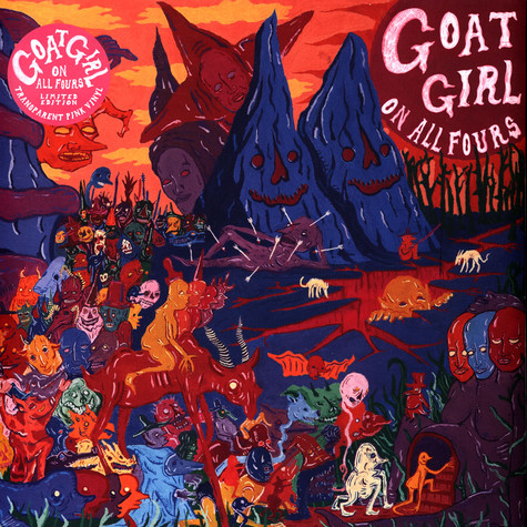 Goat Girl - On All Fours Colored Vinyl Edition