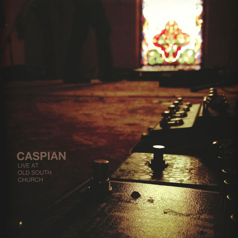 Caspian - Live At Old South Church Yellow Vinyl Edition