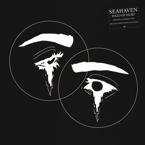 Seahaven - Halo Of Hurst Clear With Silber & Black Twist Vinyl Edition