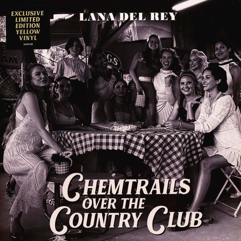 Lana Del Rey - Chemtrails Over The Country Club Yellow Vinyl Edition