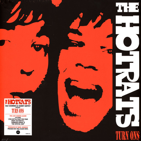 Hotrats, The - Turn Ons Clear Vinyl Edition