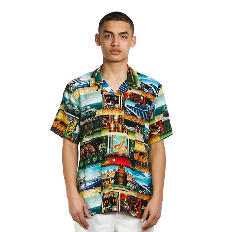 HUF x Street Fighter II - Stages S/S Resort Shirt
