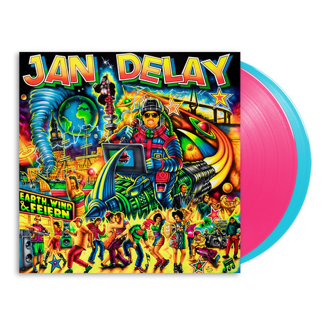 Jan Delay - Earth, Wind & Feiern HHV Exclusive Colored Vinyl Edition
