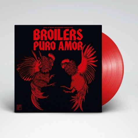 Broilers - Puro Amor Limited Red Vinyl Edition