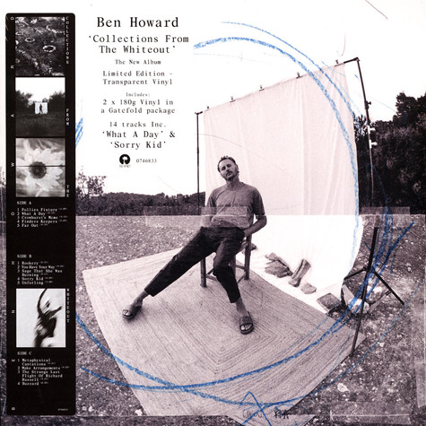 Ben Howard - Collections From The Whiteout Colored Vinyl Edition