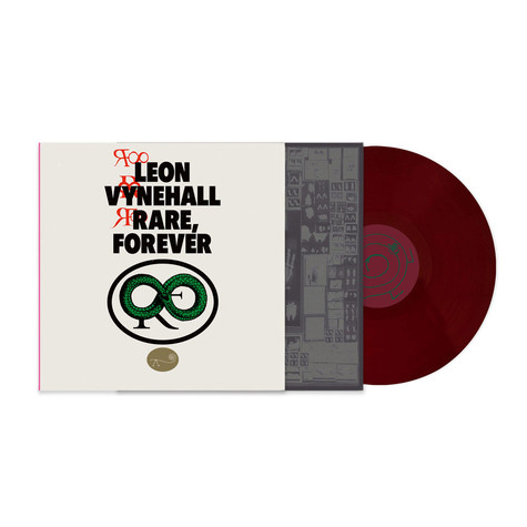 Leon Vynehall - Rare Forever HHV Exclusive Maroon Vinyl Edition