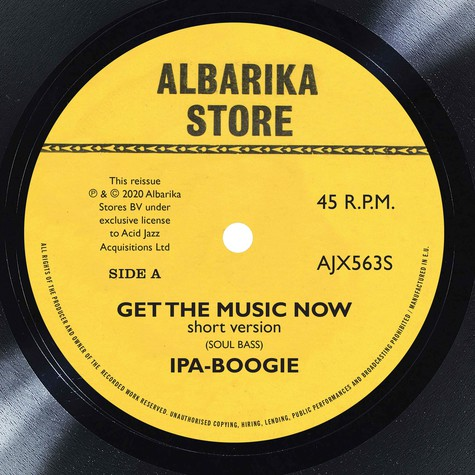 Ipa-Boogie - Get The Music Now / Africa