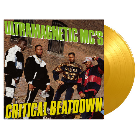 Ultramagnetic MC's - Critical Beatdown Expanded Yellow Vinyl Edition