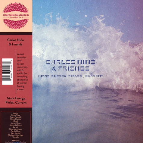 Carlos Nino & Friends - More Energy Fields, Current Water Spirit Colored Vinyl Edition