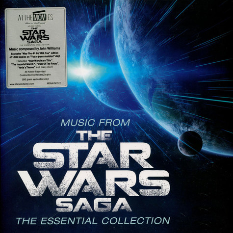 V.A. - OST Music From The Star Wars Saga The Essential Collection