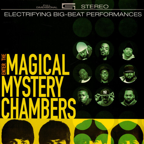 Wu-Tang Vs The Beatles - Enter The Magical Mystery Chambers Black Vinyl Edition