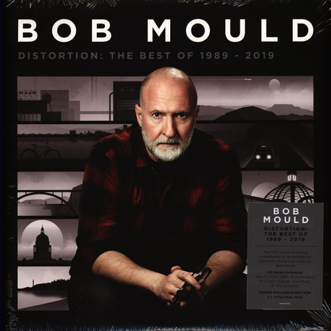 Bob Mould - Distortion: The Best Of 1989-2019 Clear Vinyl Edition