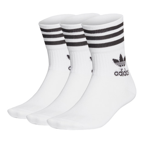 adidas - Mid Cut Solid Crew Sock (Pack of 5)