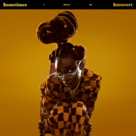 Little Simz - Sometimes I Might Be Introvert Transculent Red & Yellow Vinyl Edition
