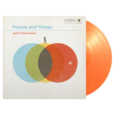 Jack's Mannequin - People And Things Orange Vinyl Edition