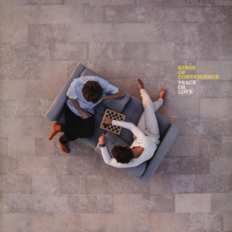 Kings Of Convenience - Peace Or Love Black Vinyl Edition
